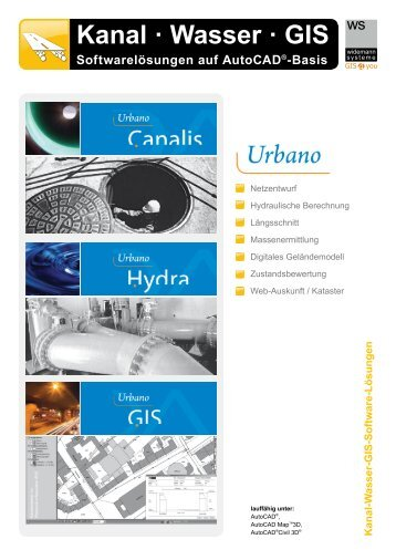 Urbano - Software-Lösungen für Kanalplanung ...