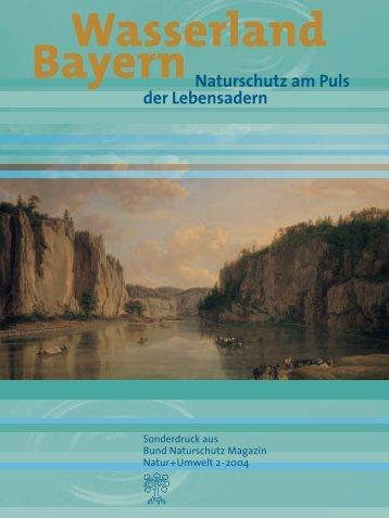 Wasserland Bayern - Bund Naturschutz in Bayern eV