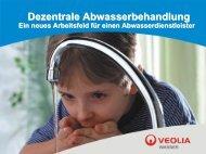 Dezentrale Abwasserbehandlung - Kompetenzzentrum Wasser Berlin