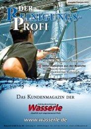 Das Kundenmagazin der - Wasserle