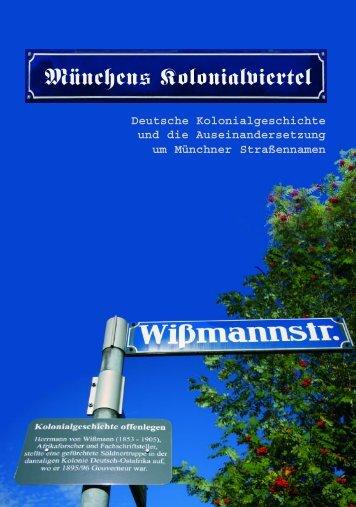 Münchens Kolonialviertel - Nord Süd Forum München eV