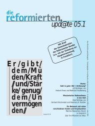 upd@te 05.1 - Reformierter Bund