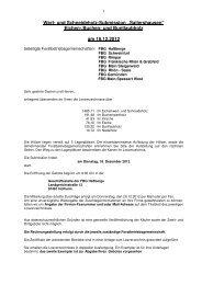 Wasserlosen - Forstbetriebsgemeinschaft Hassberge wV