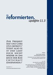 direkt zum PDF von die reformierten.upd@te - reformiert-info.de
