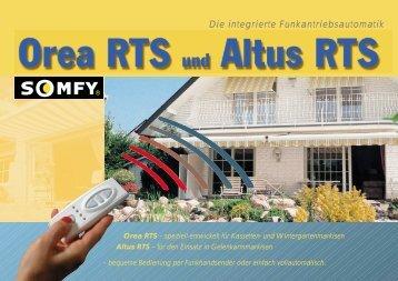 für Kassetten- und Wintergartenmarkisen - Somfy