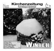 Kirchenzeitung 2012-01 Februar - Evangelische Kirchengemeinde ...