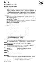 Produktinformation - FAN GmbH