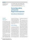Kurzzeitige aktive und passive Regenerationspausen Akute Effekte ... - Seite 2