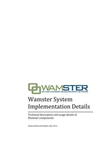 Download as PDF - WamSter