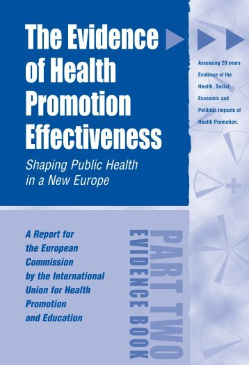 Evidence Book 1 - International Union for Health Promotion and ...