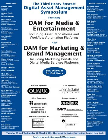 ymposium DAM for Marketing & Brand Management
