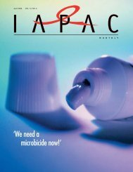 The International Association of Physicians in AIDS Care (IAPAC)