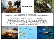 Galapagos Eine Reise in die Vergangenheit - Wamo