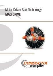 Motor Driven Reel Technology MAG DRIVE - Conductix