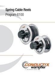 .com Spring Cable Reels Program 6100 - Conductix-Wampfler