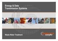 Customer Presentation Waste Water Treatment Conductix-Wampfler ...