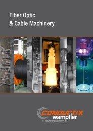 Fiber Optic & Cable Machinery - Conductix-Wampfler