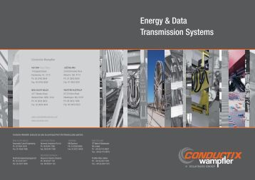 Energy & Data Transmission Systems - Conductix-Wampfler