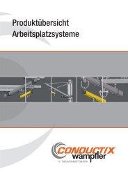 Arbeitsplatzsysteme Programm 0401 - Conductix-Wampfler