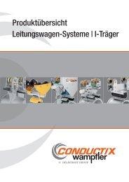 Produktübersicht Leitungswagen-Systeme | I-Träger - Conductix ...