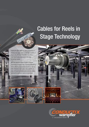 Cables for Reels in Stage Technology - Conductix-Wampfler