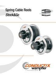 Spring Cable Reels Stock&Go - Conductix-Wampfler
