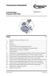 Leitungswagen Programm 200 ATEX - Conductix-Wampfler