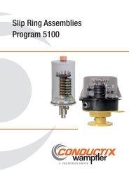 Slip Ring Assemblies Program 5100 - Conductix-Wampfler