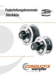 Federleitungstrommeln Stock&Go - Conductix-Wampfler