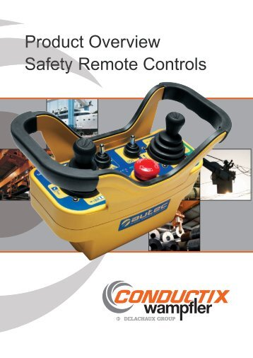 Product Overview Safety Remote Controls – Conductix-Wampfler
