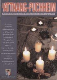 Ausgabe November-Dezember 2006 (0 bytes) - Attnang-Puchheim