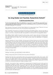 Interview als Fliesstext - Dr. Peter Gauweiler