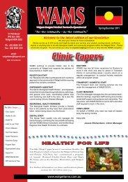 Download Newsletter (PDF) - WAMS