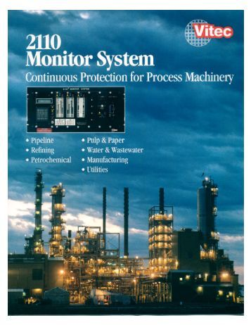2110 vibration monitor system - Vitec, Inc
