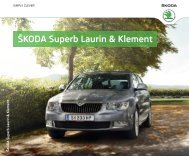 ŠKODA Superb Laurin & Klement - Skoda