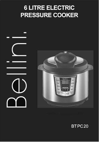 BTPC20 - Bellini Cooking Appliances