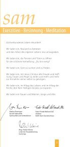 Exerzitien · Besinnung · Meditation - Erzbistum Köln - Seite 3