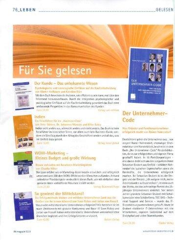 Der Unternehmercode - TEC-SAS IT-Service