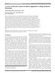 RSC Article Template (Version 3.0) - Think St. Edward's University
