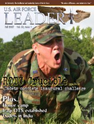 Fall 2007 - Leader Magazine Online