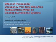 WAM - ADS-B / TCAS - FAA