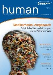 HUMAN Ausgabe 02/2010 - gesund-in-ooe.at