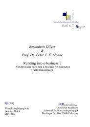 WPB W Heft 6 Bernadette Dilger & Prof. Dr. Peter F. E. Sloane ...