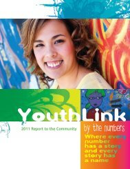 2011 Annual Report - YouthLink