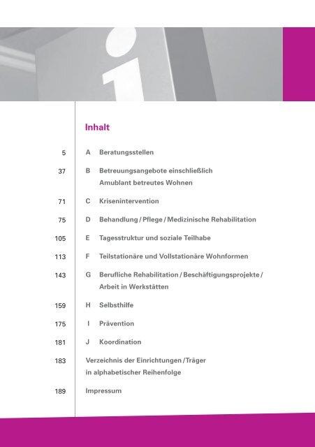 Wegweiser für Sozialpsychiatrische / Psychosoziale Hilfen in Kiel