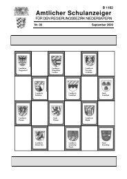 B 1162 Amtlicher Schulanzeiger - Die Regierung von Niederbayern