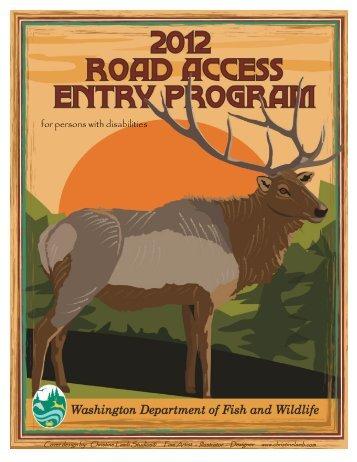 2012 Road Access Entry Program Pamphlet - Washington ...