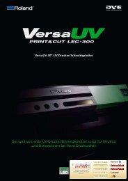 Der weltweit erste UV-Drucker/Schneideplotter sorgt ... - Farben-Frikell