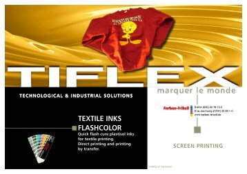 TEXTILE INkS FLASHCOLOR - Farben-Frikell