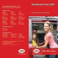 Sicherheits-Pass 2012